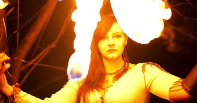 Slavic Night / Noc słowiańska - Inferis Teatr Ognia Fireshow